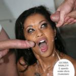 Mulatta spompina sei ragazzi inglesi – Fotoromanzo Porno – 15